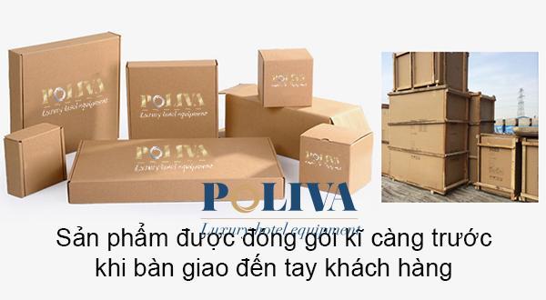 Đóng gói xích đu trước khi giao hàng tại Poliva