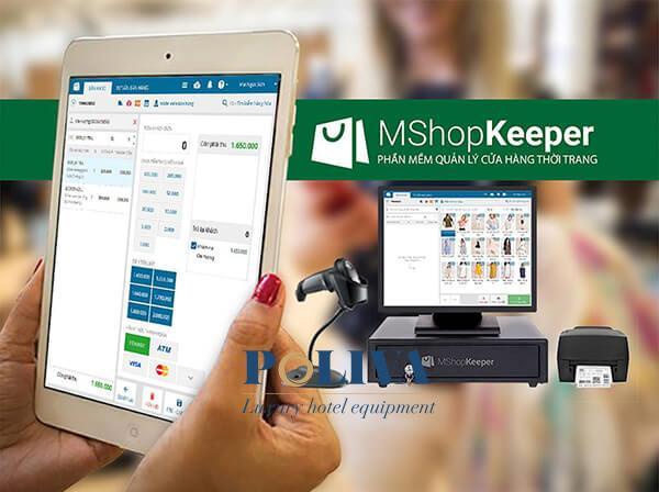 Phần mềm MShop Keeper