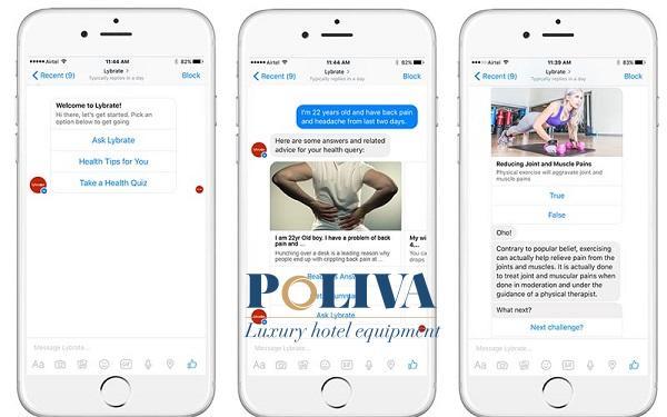 Sử dung chatbot để trả lời khách hàng bất kì lúc nào