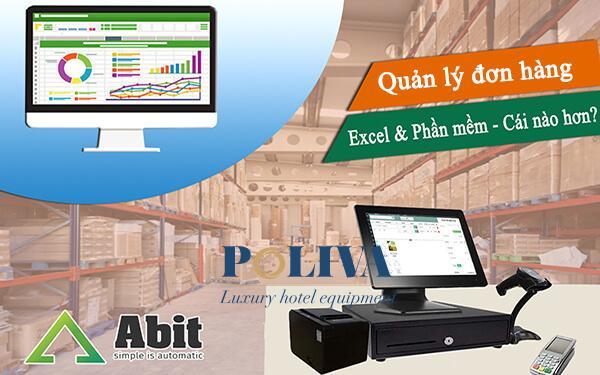 Phần mềm quản lý đơn hàng bằng Excel có thực sự hiệu quả?
