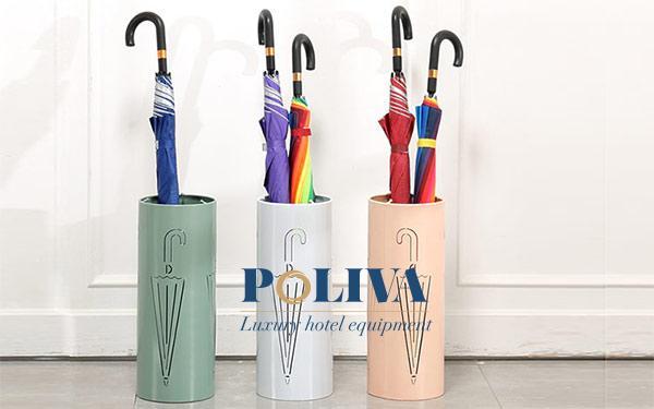 Chất liệu kệ để ô dù nào tốt và nên dùng?