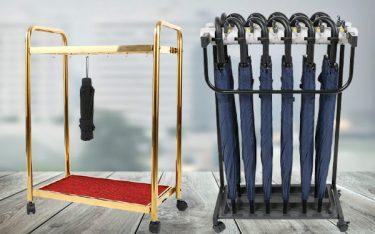 So sánh giá cắm ô có ổ khóa và giá treo dù thông thường