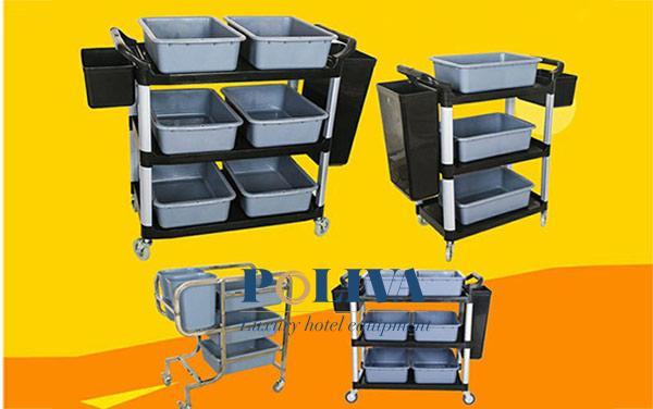 Nhà hàng mới có nên mua xe dọn bàn thanh lý để dùng?