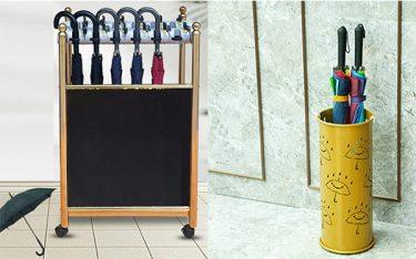 Sự khác biệt của ống cắm ô với giá treo dù