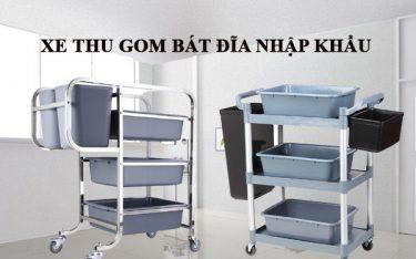 Xe thu gom bát đĩa nhập khẩu chiếm lĩnh thị trường Việt