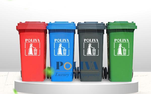 Top 3 mẫu thùng rác 120 lít phổ biến nhất hiện nay