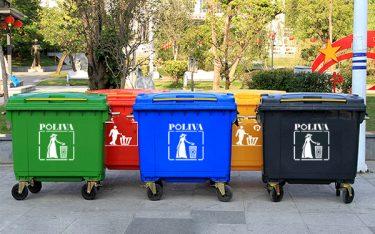 Điểm khác biệt của thùng rác 660 lít so với các loại thùng rác khác