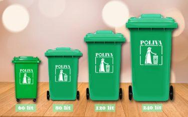 Đôi nét về thùng rác có bánh xe