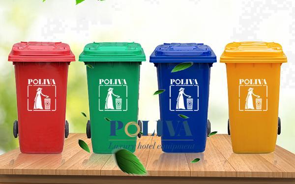 Đôi nét về thùng rác nhựa 240 lít Poliva
