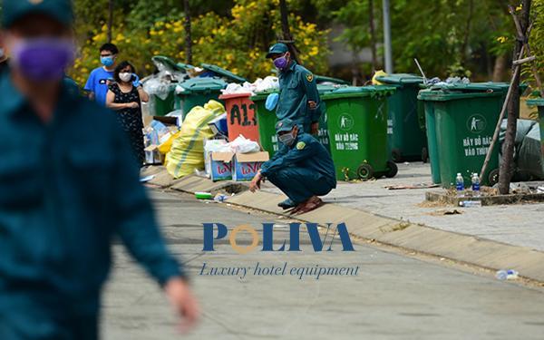 Giảm thiểu ô nhiễm môi trường bằng thùng rác nhựa Poliva