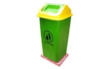 Giới thiệu mẫu thùng rác nhựa cố định