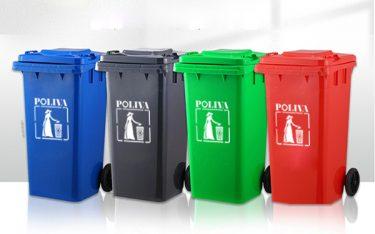 Hướng dẫn giữ vệ sinh thùng rác công cộng khi sử dụng