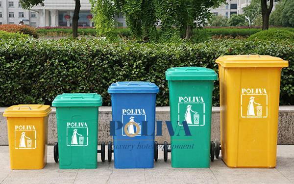 Kinh nghiệm chọn mua thùng rác công nghiệp chất lượng giá rẻ