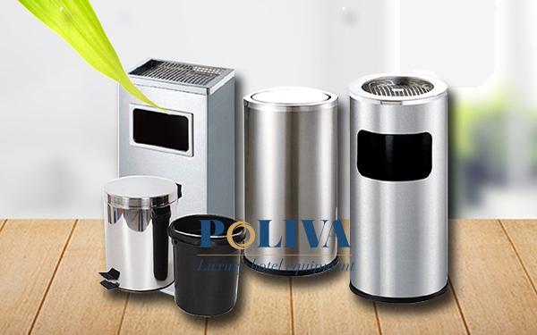 Top 3 mẫu thùng rác inox đáng mua nhất hiện nay
