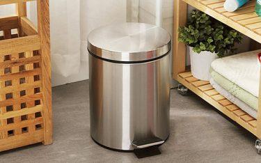 Mẫu thùng rác inox đạp chân sử dụng cho mọi không gian