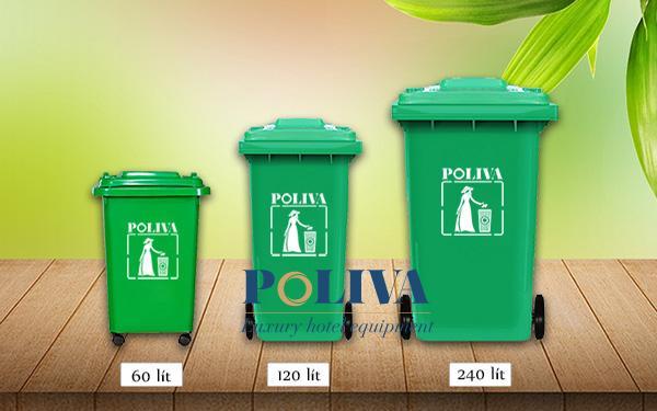 Điểm danh 3 mẫu thùng rác nhựa bán chạy nhất tại Poliva