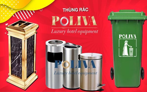 Nguồn gốc của thùng rác Poliva và những điều mà bạn chưa biết?