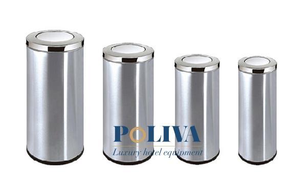 Cơ chế hoạt động của thùng rác inox bập bênh