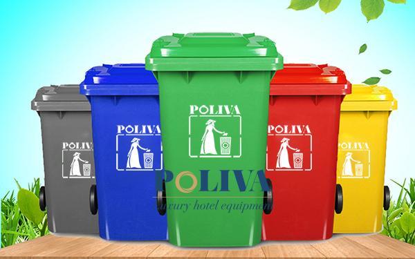 Nhận biết thùng rác nhựa cao cấp qua những dấu hiệu nào?