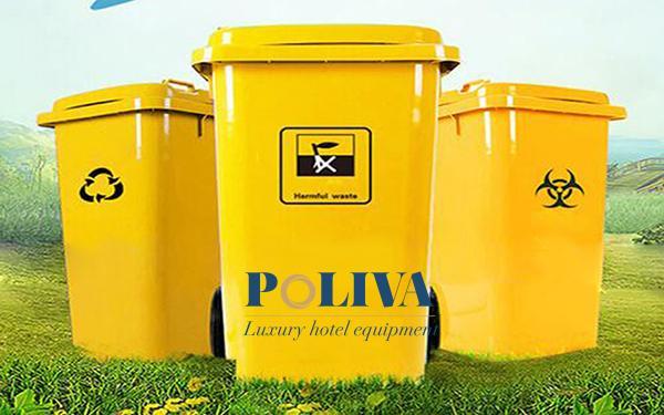 Những mẫu thùng đựng rác có nguy cơ lây nhiễm Covid-19
