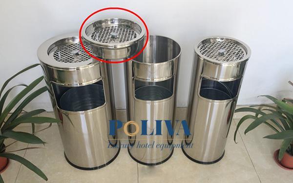 Phương pháp làm sạch thùng rác inox đúng cách
