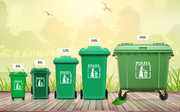 Sử dụng thùng rác có bánh xe mang lại những lợi ích gì?