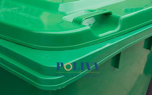Thùng rác có nắp là gì? Các loại thùng rác có nắp phổ biến