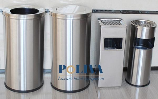 Thùng rác inox nhập khẩu có gì khác biệt?