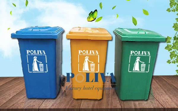 Một số tiêu chí khi mua thùng rác composite