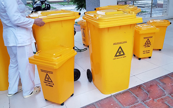 Vai trò của thùng rác y tế trong bệnh viện