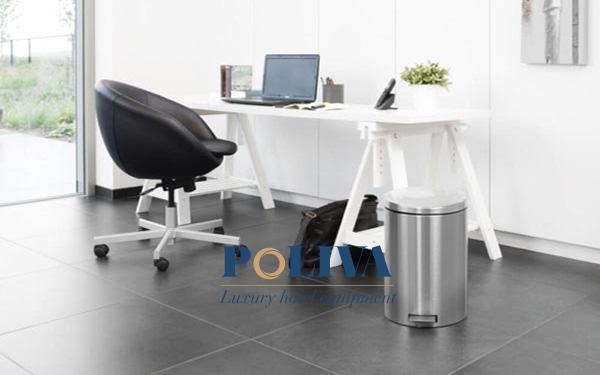 Văn phòng có nên sử dụng thùng rác inox không?