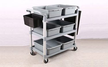 Phân biệt xe dọn đồ nhà hàng chất lượng và hàng nhái