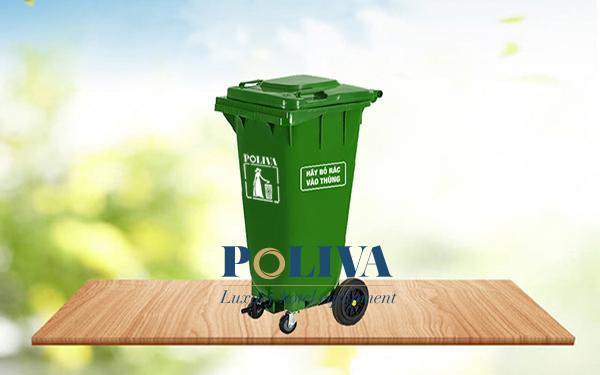 Bảng giá thùng rác hữu cơ do Poliva cung cấp