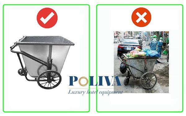 Dấu hiệu nhận biết xe gom rác kém chất lượng