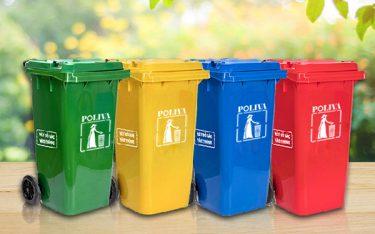 Đôi nét về thùng rác nhựa Poliva