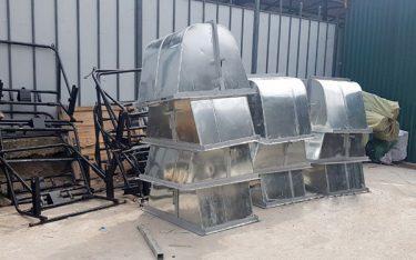 Nhận sản xuất và gia công xe gom rác theo yêu cầu