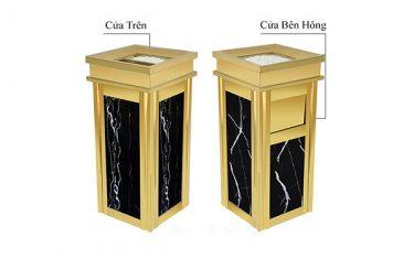 2 mẫu thùng rác đá hương cương phổ biến nhất