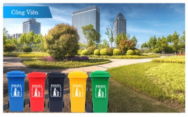 Điểm danh những mẫu thùng rác công viên phổ biến nhất