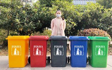Điểm danh những mẫu thùng rác thường dùng tại khu công nghiệp