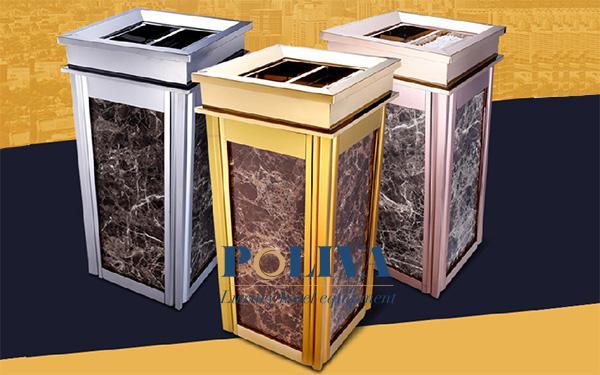 Phương pháp bảo quản thùng rác đá đúng cách