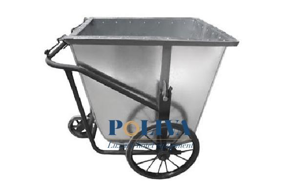 Quá trình tiếp nhận và bảo hành xe gom rác tại Poliva