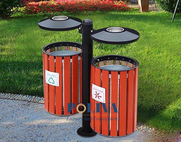 Ưu điểm nổi bật của mẫu thùng rác giả gỗ