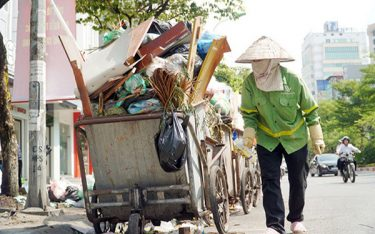 Xe thu gom rác đẩy tay có vai trò như thế nào?