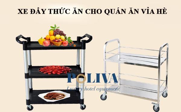 Vì sao hàng quán vỉa hè Việt không trưng dụng xe đẩy thức ăn?